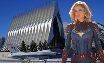 A 'Captain Marvel' effect? Air Force Academy sees its most female applicants in 5 years