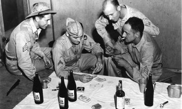 The untold story of how booze soaked the battlefields of World War II