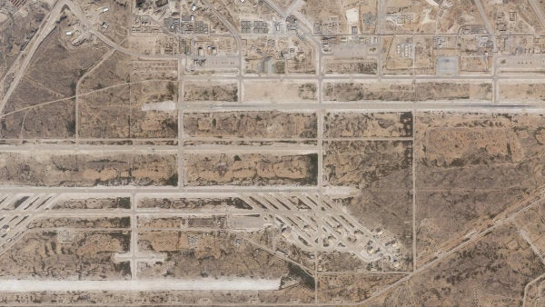 Satellite images show base damage after Iran launched a missile attack on US and coalition forces in Iraq