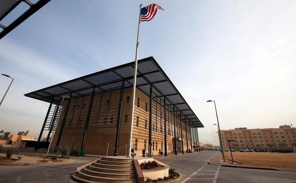 US threatens to close its massive embassy in Baghdad