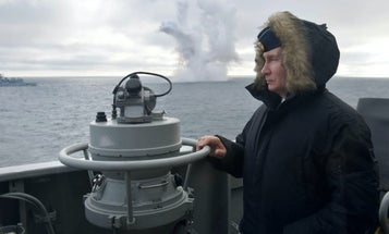 Putin personally oversaw Russia's latest hypersonic missile test in Crimea