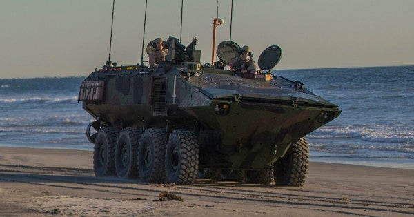 The Marine Corps' first new amphibious vehicle since Vietnam is almost here. Here's who will get them first