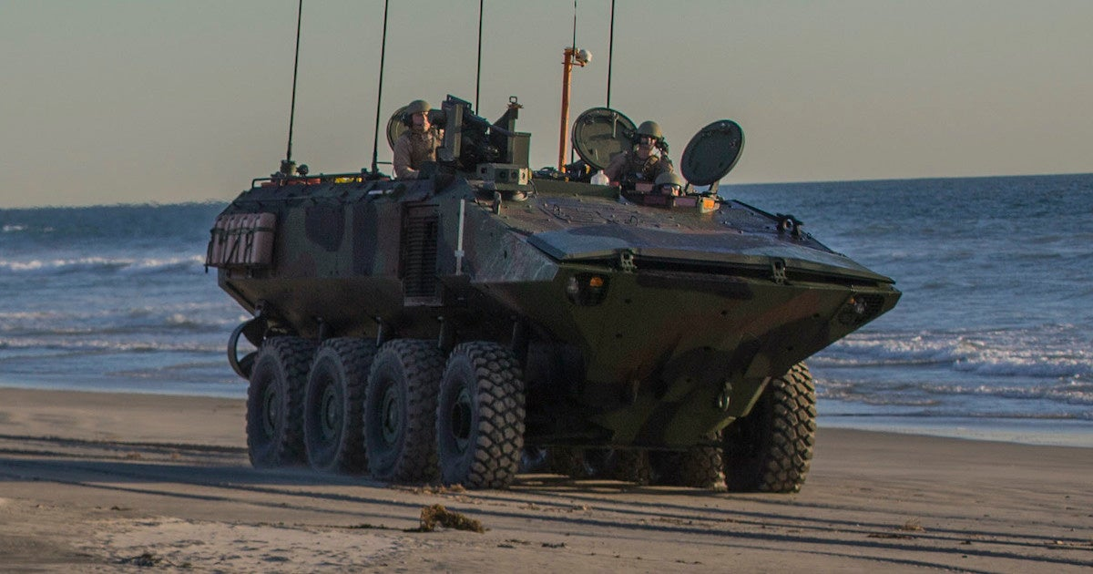 The Marine Corps has finally fielded its first new amphibious vehicle since the Vietnam War