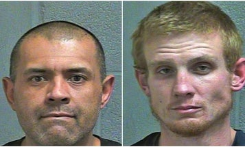2 men arrested after allegedly trying to drive through Tinker Air Force Base with a car full of marijuana and a gun