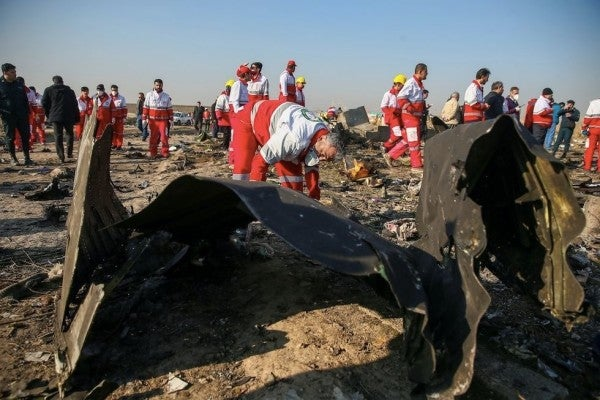 Iran admits it shot down Ukrainian airliner