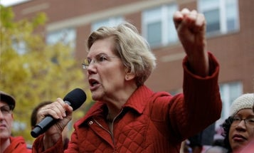 Democratic candidate Elizabeth Warren lays out her vision for the military if she is elected president