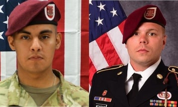 Two paratroopers killed in Afghanistan 'represent the very best of our nation and our Army'