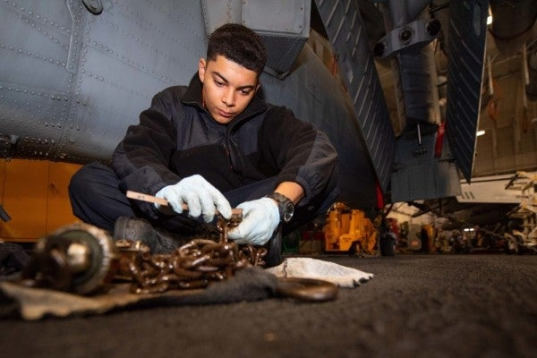 'It's necessary, but it's pretty miserable' – How the Navy spends $3 billion a year busting rust