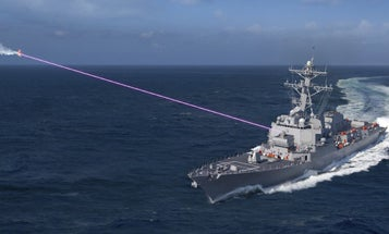The Navy wants to slap a laser on a littoral combat ship for the first time