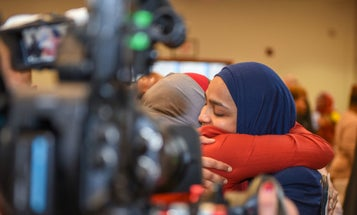 Air Force commissions first female Muslim chaplain in US military history