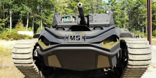 Army selects 2 firms to build new light and medium robotic combat vehicles