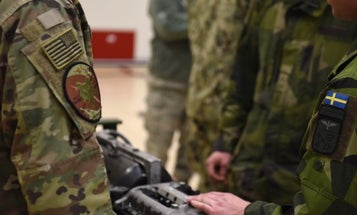 A guy faked his diploma to get a commission as an officer in the Swedish military. Then he got assigned to NATO HQ