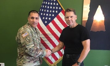 This 59-year-old veteran left the Army a decade ago. Now he's headed back to basic training