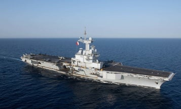 France reports nearly 700 COVID-19 cases aboard its lone aircraft carrier