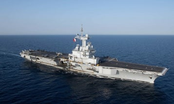 France to deploy Charles de Gaulle aircraft carrier to support Middle East operations