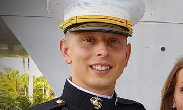 A Marine's moving truck was stolen with his father's ashes inside