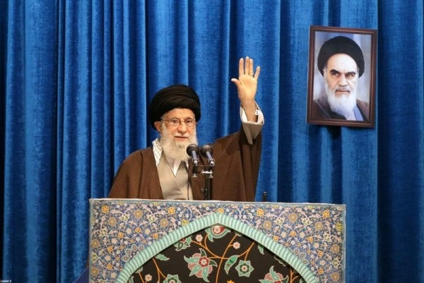 Iran's Ayatollah Khamenei tries to focus public anger back at US amidst backlash from airliner shootdown