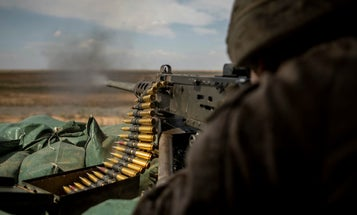The Marine Corps is officially picking up some lightweight ammo for the M2 machine gun