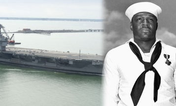 Navy to name new aircraft carrier after Pearl Harbor hero Doris Miller