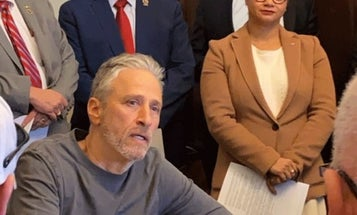 Jon Stewart joins fight to help veterans exposed to toxic chemicals from burn pits