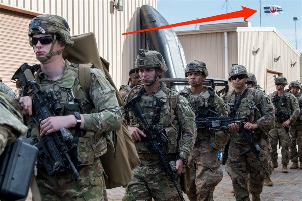 This photo sure makes it look like the US Army is part of the Rebel Alliance