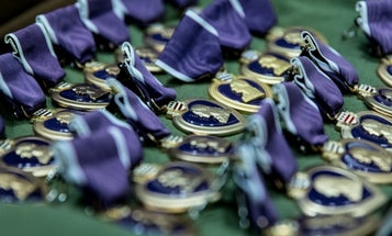 Fort Bragg paratroopers receive Purple Hearts, valor awards for roles in Afghanistan deployment