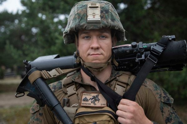 Marine grunt being considered for award after saving 3 from fiery car crash