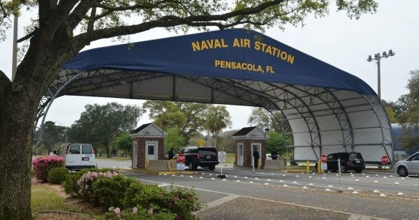 New security measures after NAS Pensacola shooting should provide a 'much higher degree of confidence,' Esper says