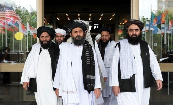 Taliban expects an Afghan peace deal within 'days'