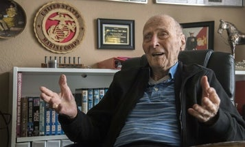 A 104-year-old Marine asked America for Valentine's Day cards. He'll probably get over 100,000.