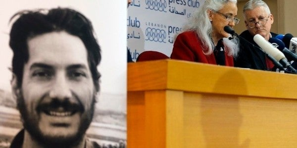 The US government is letting Marine veteran Austin Tice languish in a Syrian prison, according to his mother