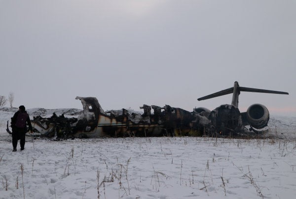 Air Force E-11A communications aircraft crashes in Afghanistan