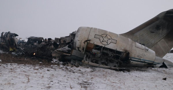 US recovers remains of 2 service members from Afghanistan plane crash