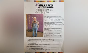 Forget 'athleisure,' this 91-year-old Air Force vet works out in overalls