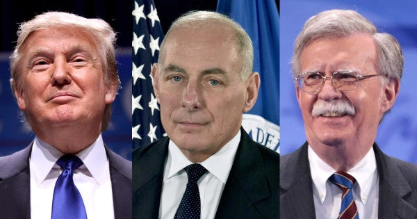Ex-Trump Chief of Staff John Kelly: 'I believe' John Bolton and think he should testify