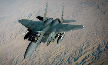 The Air Force is officially picking up its first new F-15 in nearly 20 years