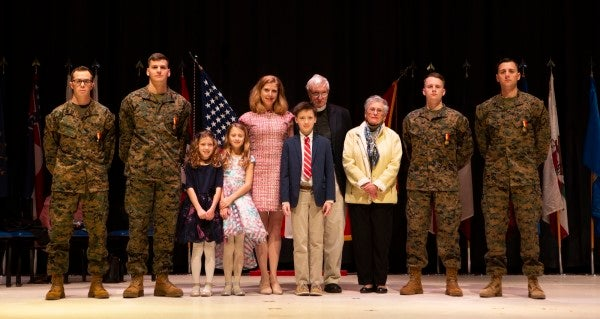 4 Marines recognized for heroic rescue of mother and 2 daughters caught in a deadly rip current