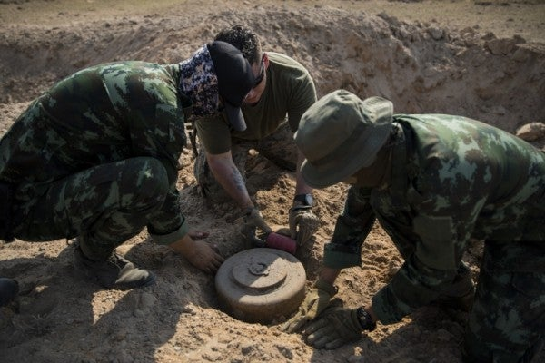 DoD expected to loosen restrictions on landmine use in move that totally won't blow up in anybody's face