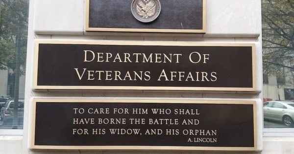 The deputy secretary of the VA was just fired 'due to a loss of confidence'