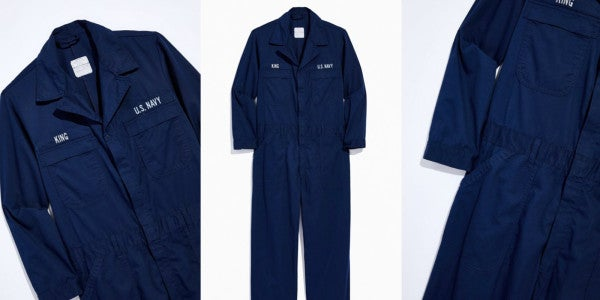 Urban Outfitters has a knockoff set of Navy coveralls for $120 for those who wanted to enlist, but…
