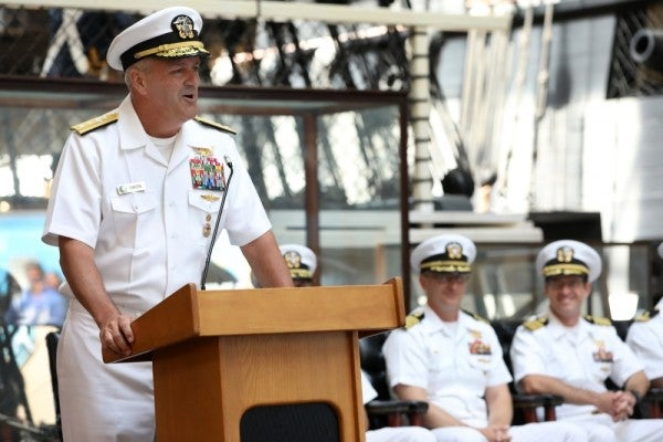 Top Navy SEAL admiral who clashed with president over Gallagher case will reportedly retire early