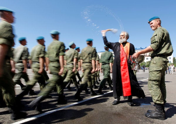 Russian Orthodox priests not sure if blessing nuclear weapons a good idea after all