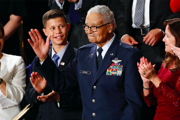 Meet the 100-year-old Tuskegee Airman President Trump just promoted to brigadier general