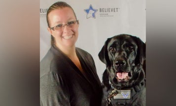 Air Force vet wins $75,000 settlement with employer who wouldn't allow service dog