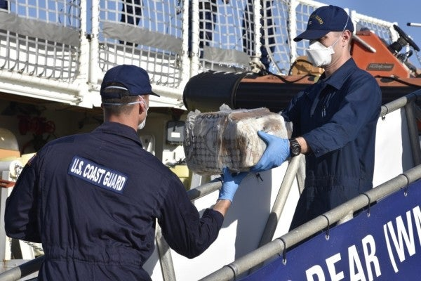 Coast Guard and British Navy seize $46 million in cocaine in the Caribbean