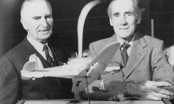 A British pilot and a German pilot shot each other down in WWII. Then they became best buds.