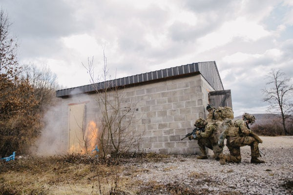 The Army is looking for technology that will let soldiers see through walls