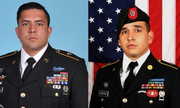 Pentagon identifies 2 Special Forces soldiers killed in Afghanistan