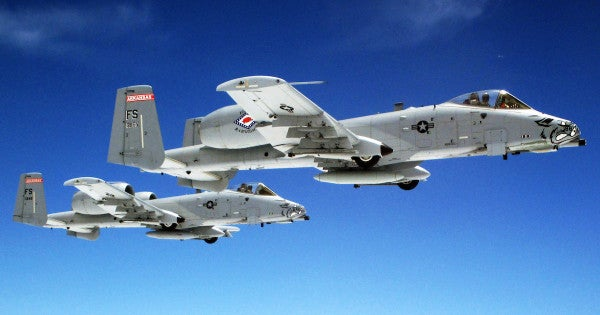 Bye-bye to BRRRT: the Air Force wants to retire 44 A-10 Warthogs