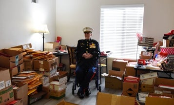 104-year-old Iwo Jima Marine rakes in 70,000 cards for Valentine's Day